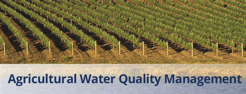 Agricultural Water Quality Management